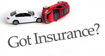 Requirement of vehicle insurance