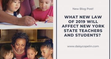 What New Law of 2019 will Affect New York State Teachers and Students?