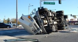 Truck accident injury in California