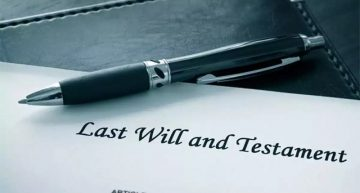 What happens when a person executes a will and then marries?